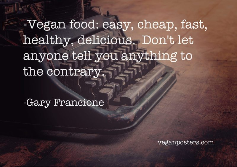 Vegan food: easy, cheap, fast, healthy, delicious.  Don't let anyone tell you anything to the contrary.