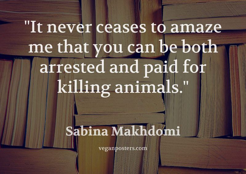 It never ceases to amaze me that you can be both arrested and paid for killing animals.
