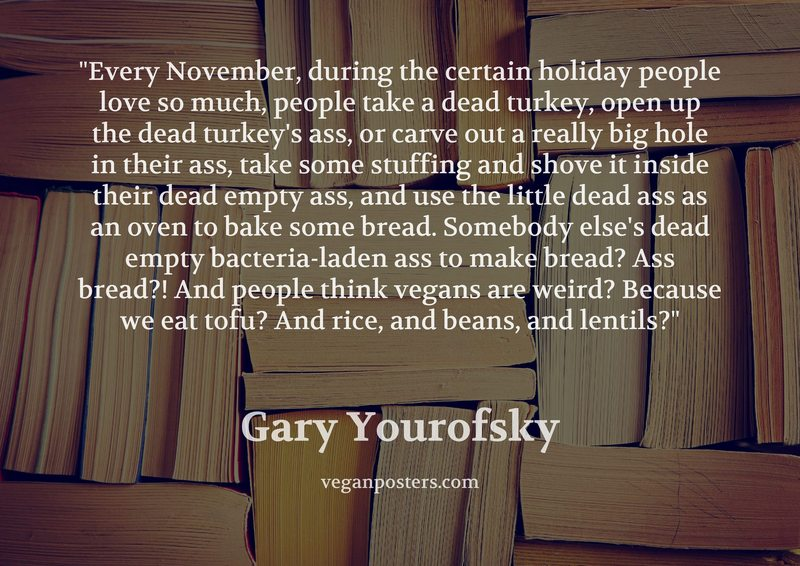 Every November, during the certain holiday people love so much, people take  a dead