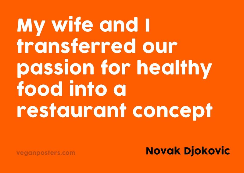 My wife and I transferred our passion for healthy food into a restaurant concept