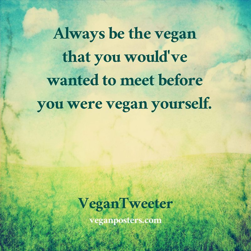Image result for be the vegan you wanted to meet
