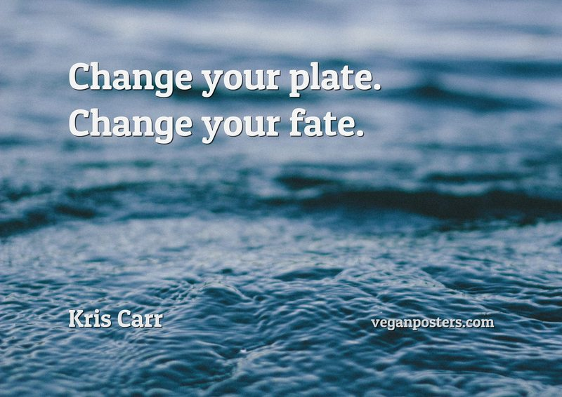Change your plate. Change your fate.